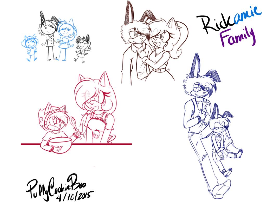.:AU:. Family Bonding by PuffyCookieBoo