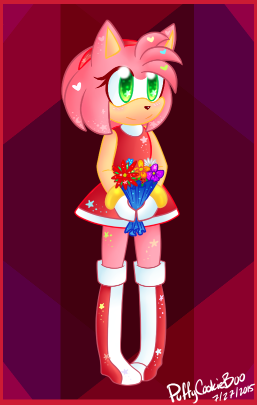 Amy Rose by PuffyCookieBoo