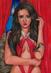 Serie Arte Comics Vampirella by henriqueandrade