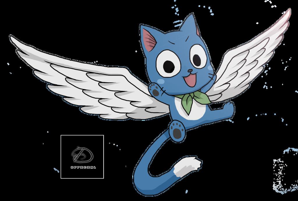 Fairy Tail Happy Render by Davide2889 on DeviantArt