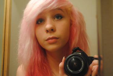 Pank hair :3