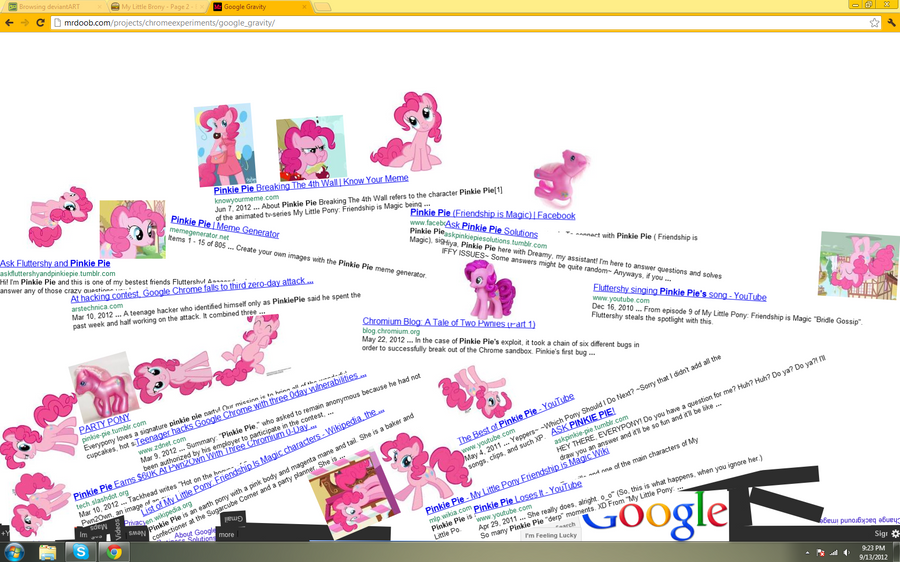 i googled pinkiepie by TTLee