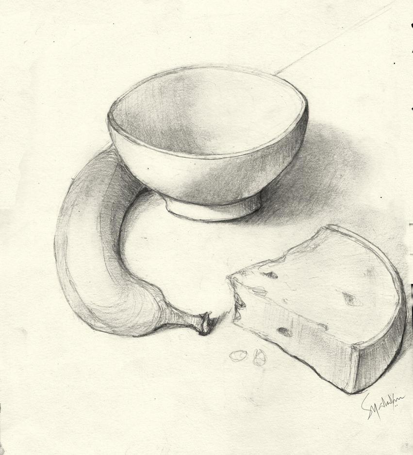 Summer Breakfast-Sketch by Goodnight-Melbourne