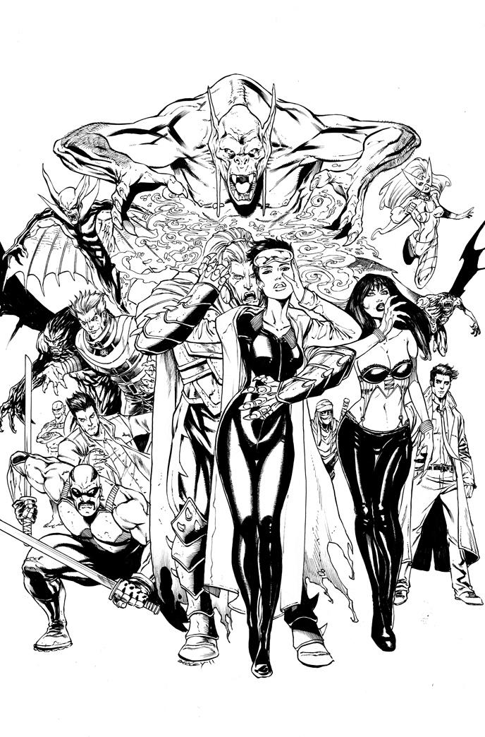 OHOTMU Vampires by ColtNoble