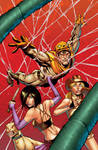 HACKSLASH issue 12 cover