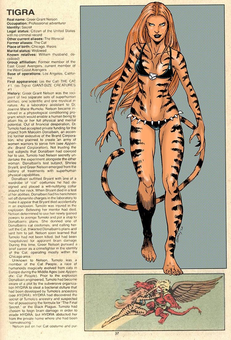 Tigra OHOTMU by ColtNoble