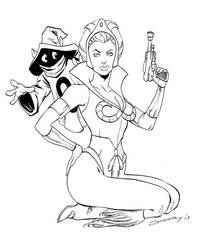 TEELA pinup by ColtNoble