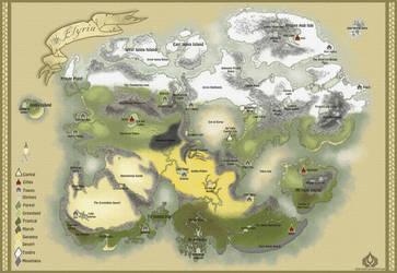 Info: Map of Elyria by ErwilMinsa