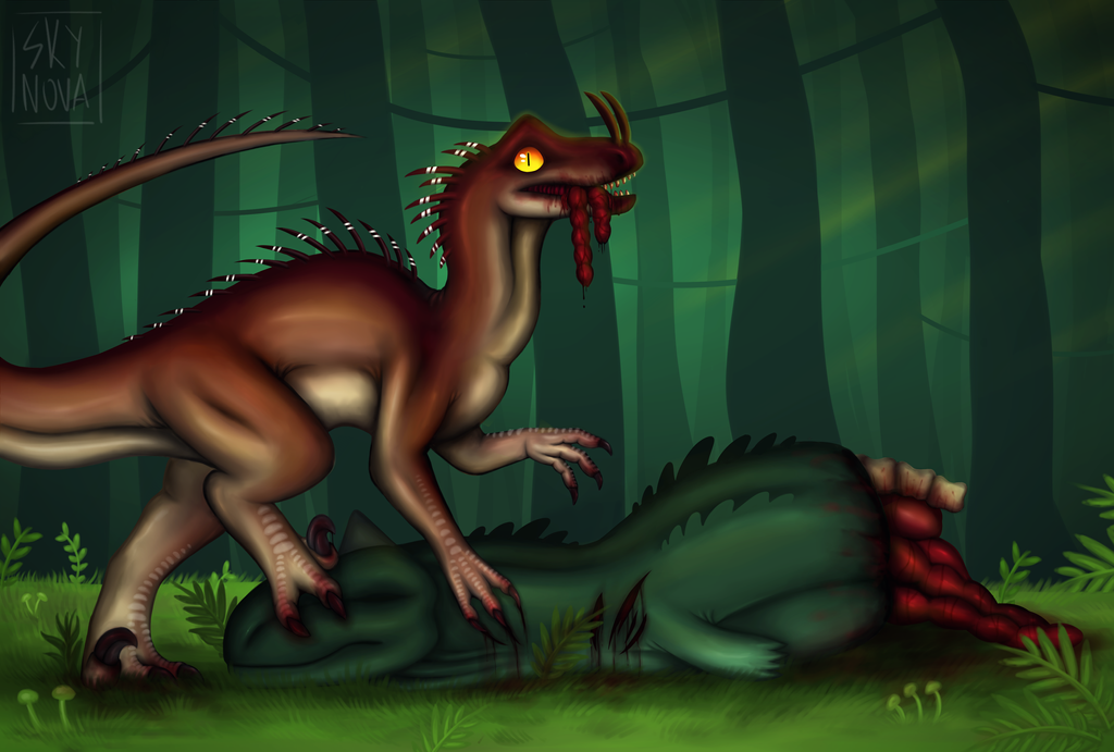 -The Hungry King- by SkyNovaraptor