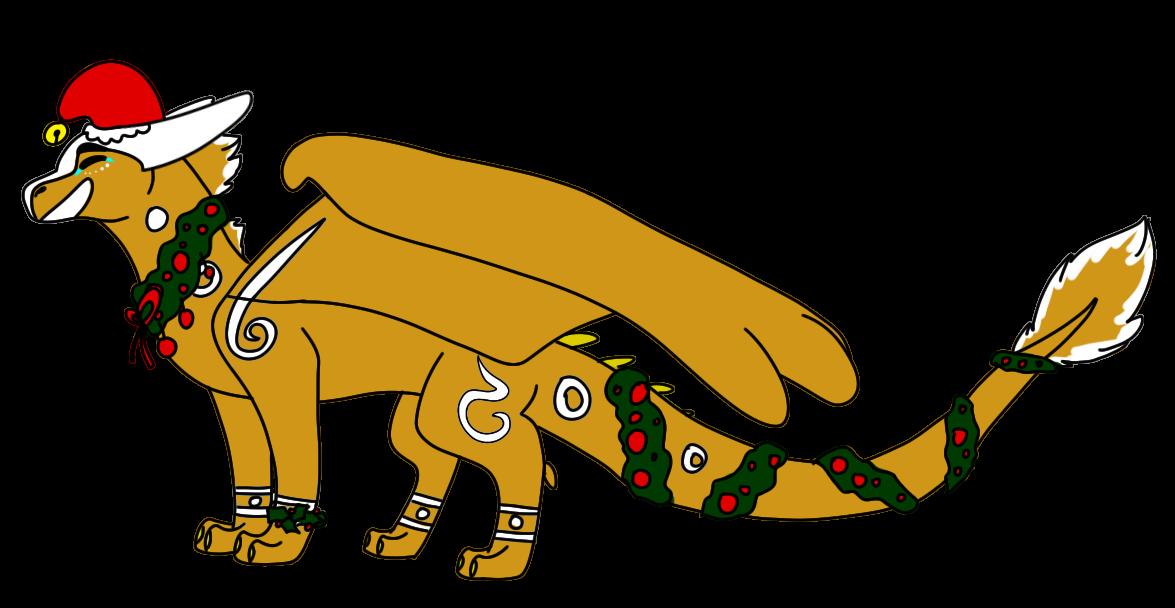 Christmas YCH! by i-draw-dragon-things