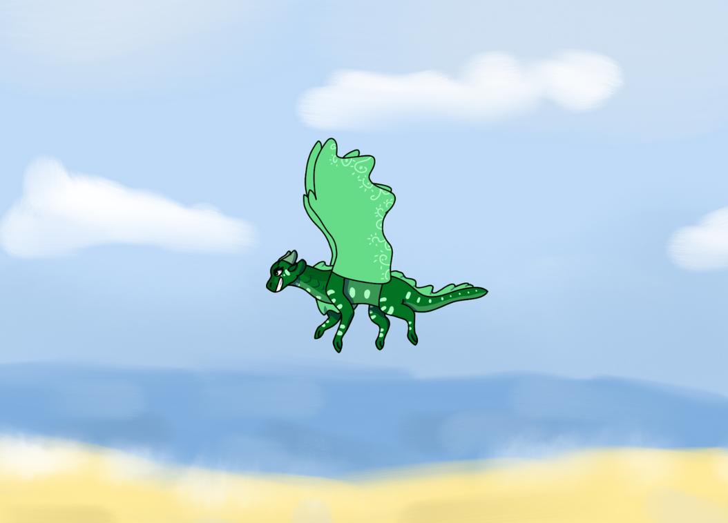 Freedom by i-draw-dragon-things