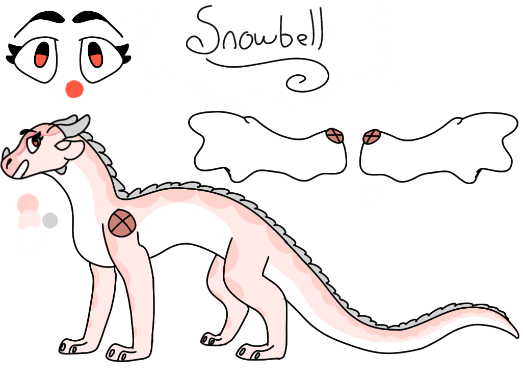Snowbell Reference by i-draw-dragon-things