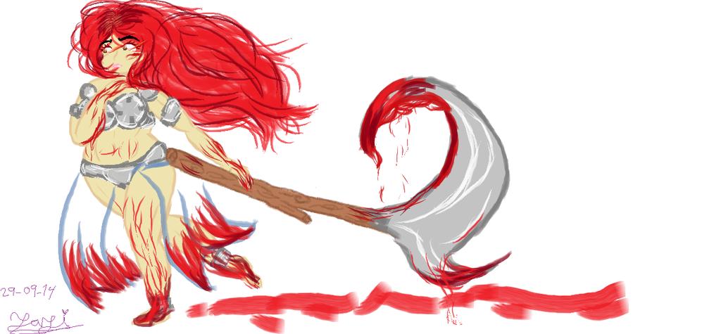The RPG girl by Yani-Emi