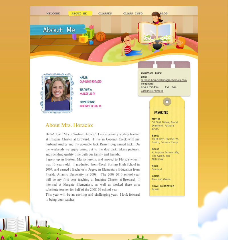 Teacher Website 2 By Schil79 On Deviantart