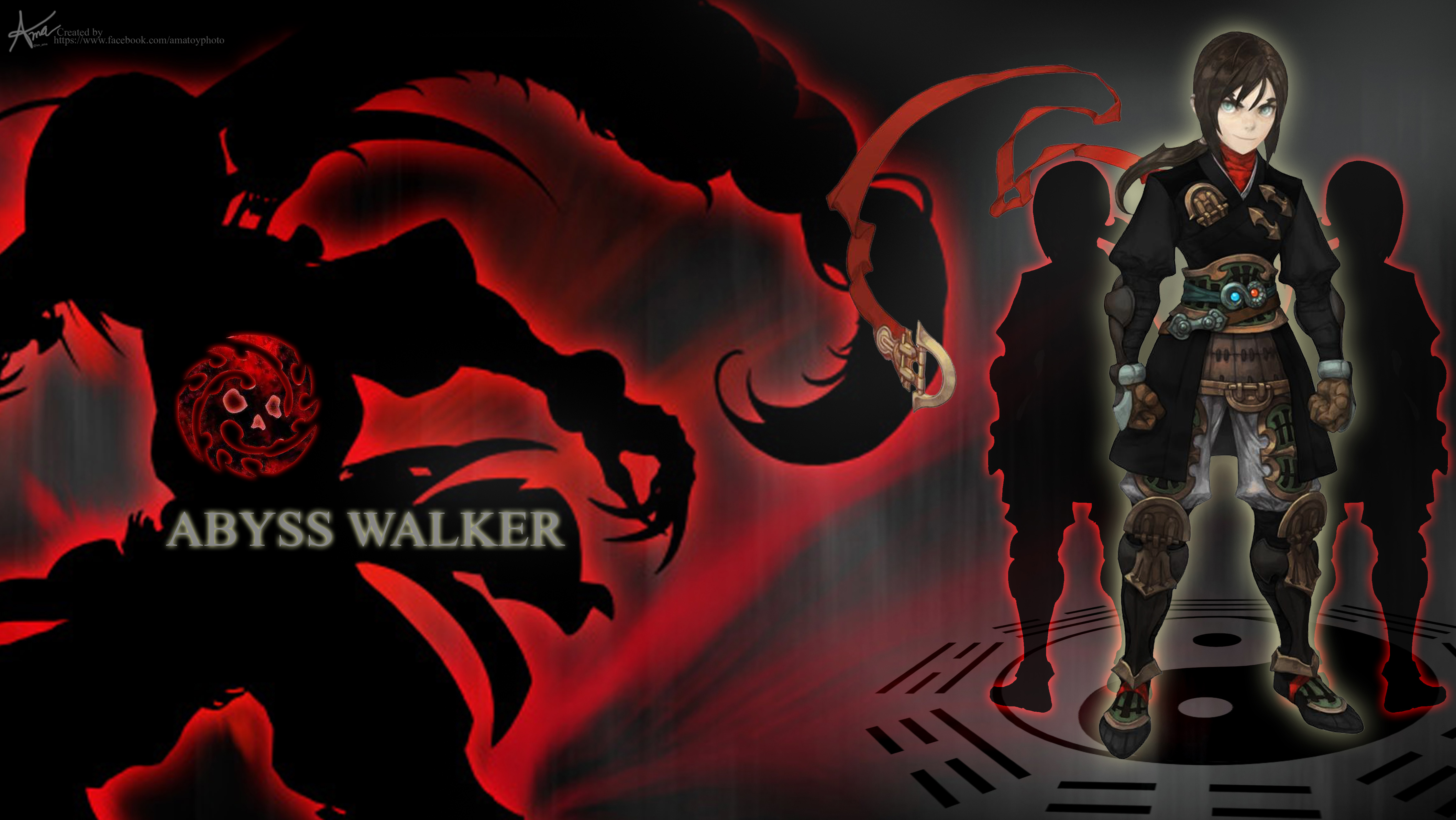 Wallpaper download abyss -  Wallpaper Dragonnest Abyss Walker By Ama Toyphoto