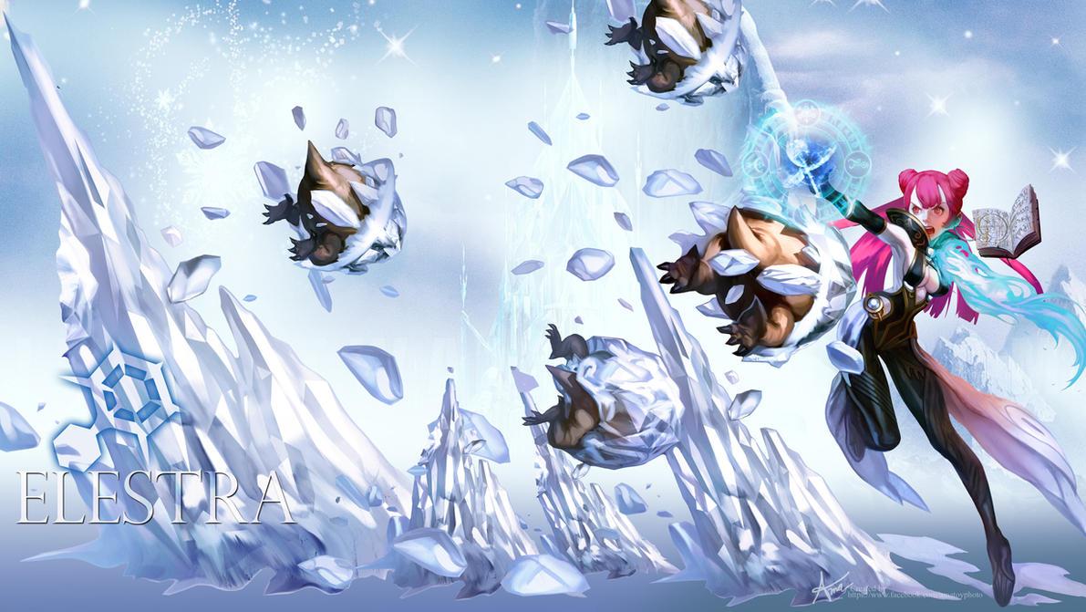 Wallpaper Dragonnest Elestra By Ama Toyphoto On Deviantart