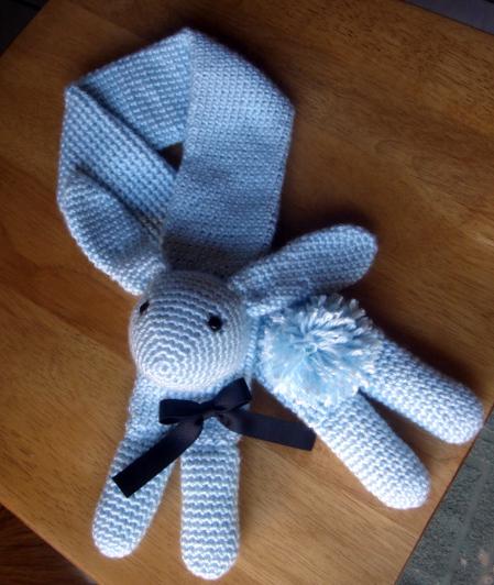 Soft Blue Bunny by PinayChicksRock