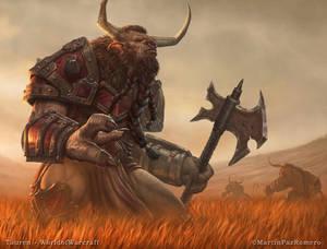 Warcraft - Tauren.