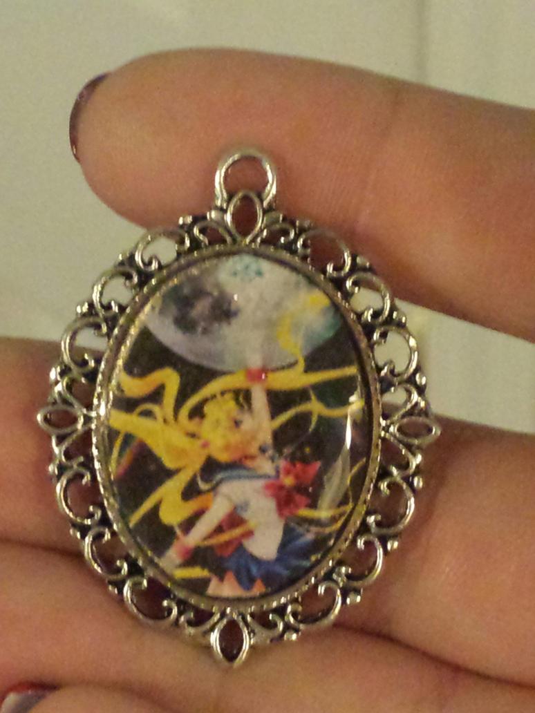 Sailor Moon Crystal pendant by lucky-meryl