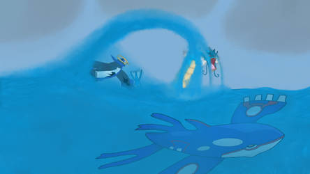 Pokemon in Storm by DascordStudios