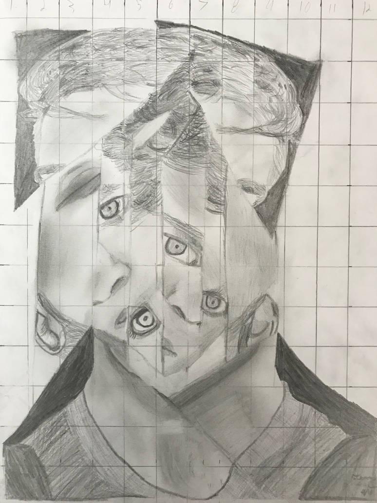 Mixed Self Portrait by DascordStudios