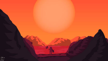 Mars by dridiyassin