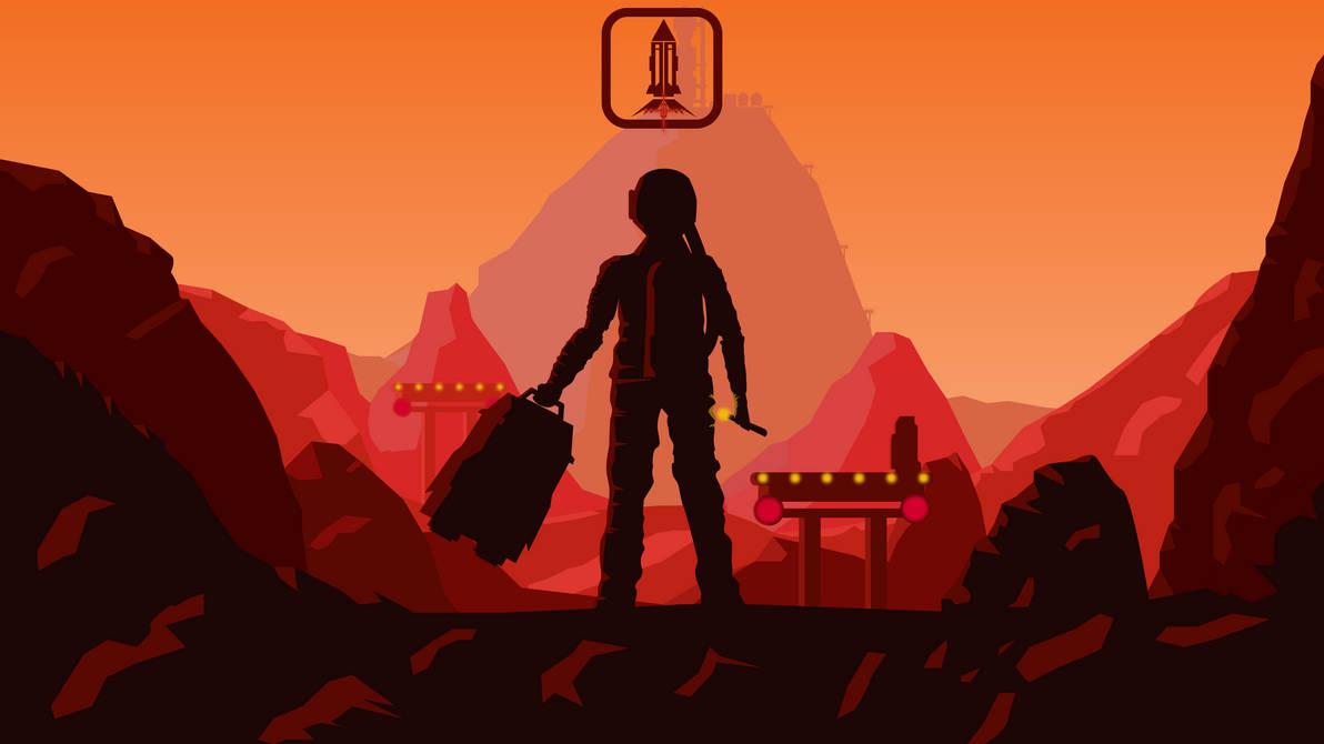 Mars (Game MainMenu Wallpaper) by dridiyassin