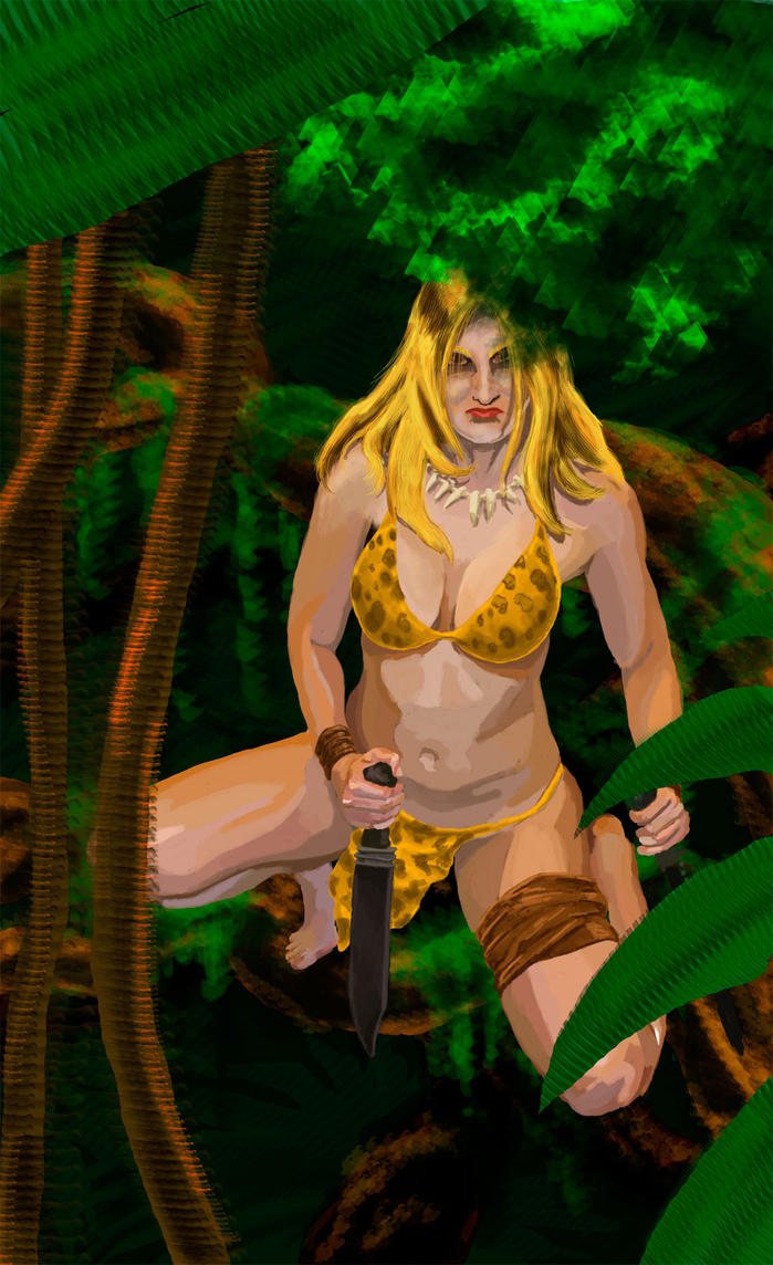 Jungle Girl by lilmikeegee