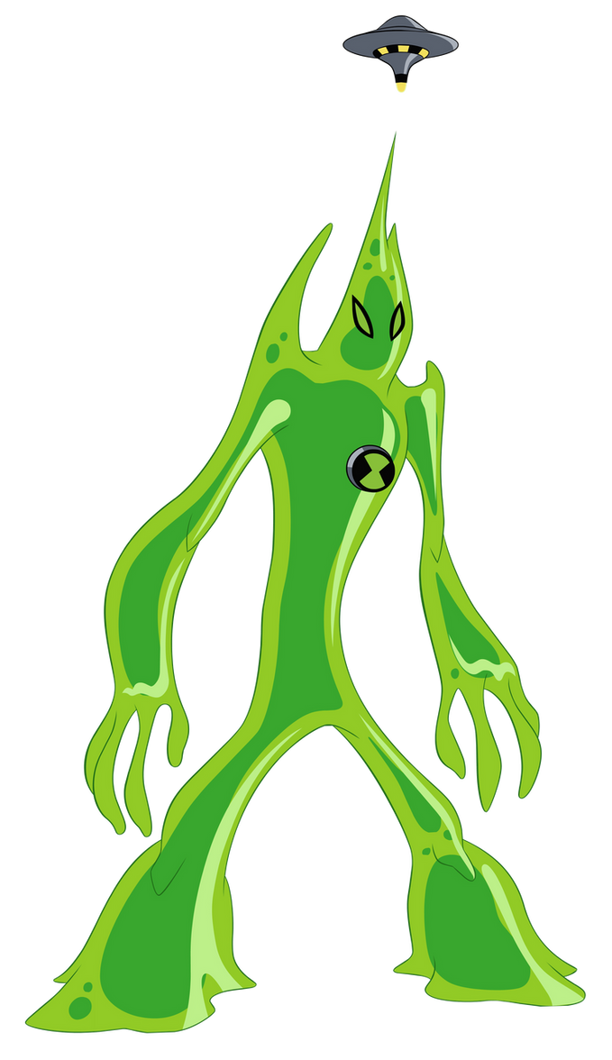 ben 10 coloring pages goop - photo#32