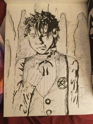 lil demon boy  by nightmareGOD235