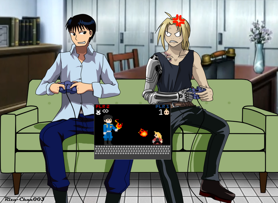 Fullmetal VS Flame: Video Game Style by Rizu-Chan003 on ...