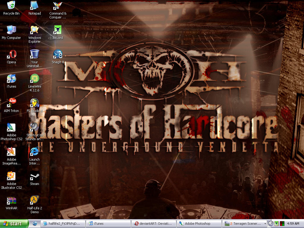 Masters Of Hardcore Wallpaper By Jerthered
