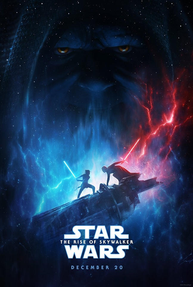 Star Wars The Rise Of Skywalker Official Poster By Reylo Galaxy On Deviantart
