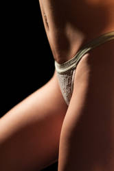 Sexy Panty Boudoir Photo by redsilkphotos
