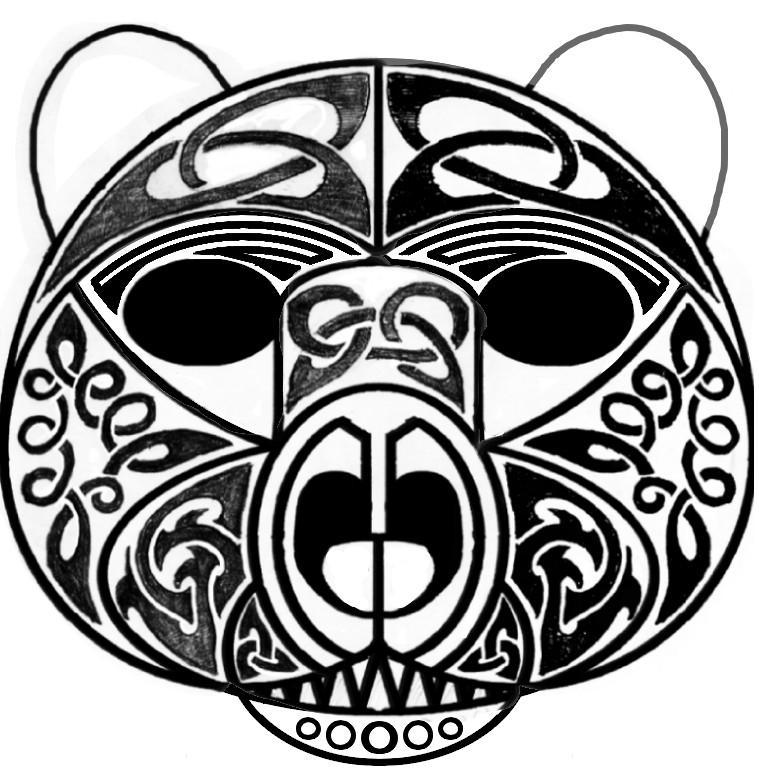 Tattoo Designs Mk: Bear Tattoo Design Mk 3. By Balgroggy On DeviantArt