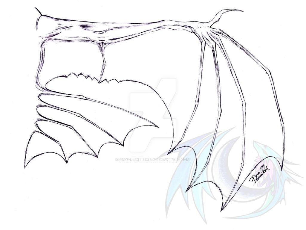 Line Art Wings : Hybrid line art wings by legacyofanartist on deviantart