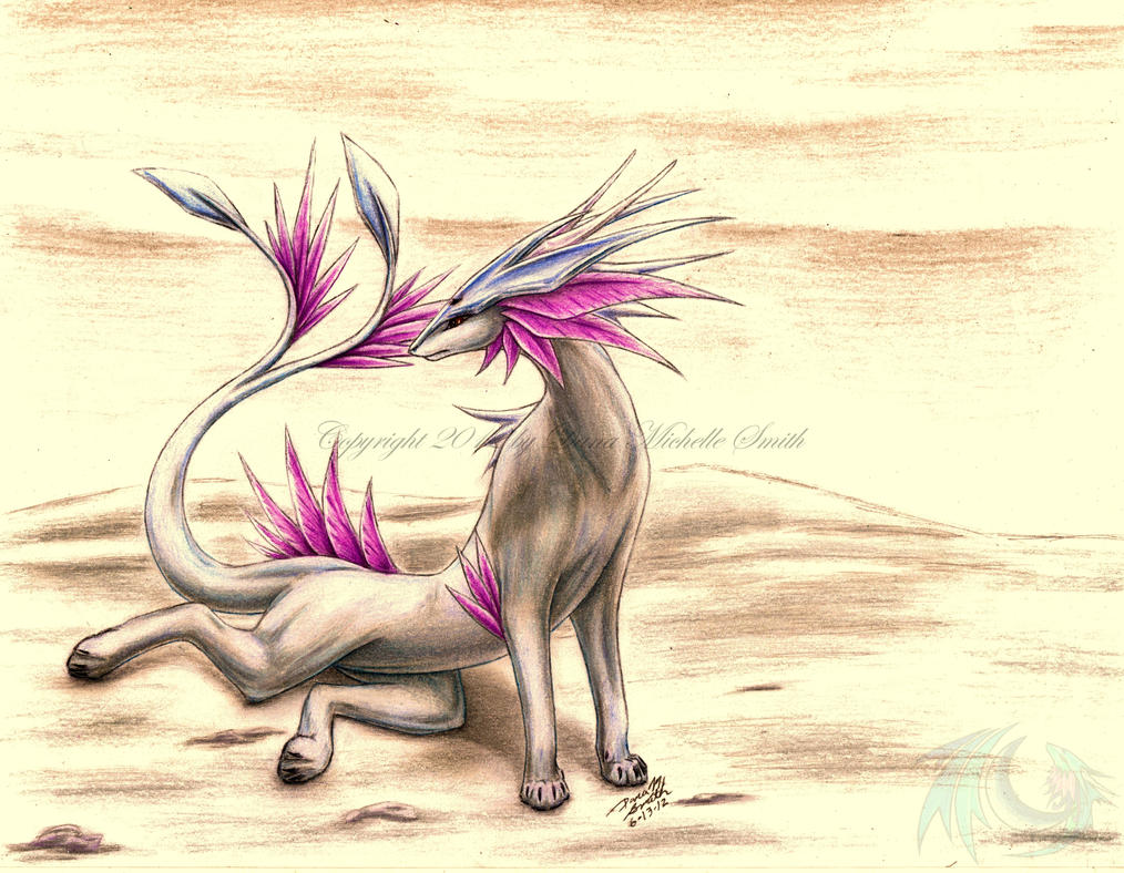 My Dragonsona (Drake Form) by ZeitgeistDragon