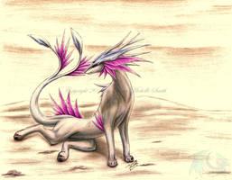 My Dragonsona (Drake Form) by CryoftheBeast