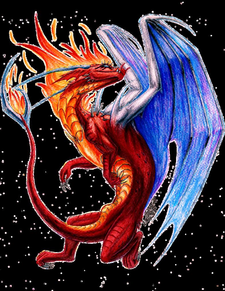 Commission: Blazed by ZeitgeistDragon