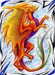 ATC: Gold dragon by CryoftheBeast