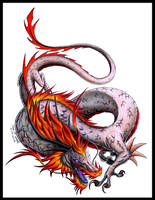 Japanese Dragon by CryoftheBeast