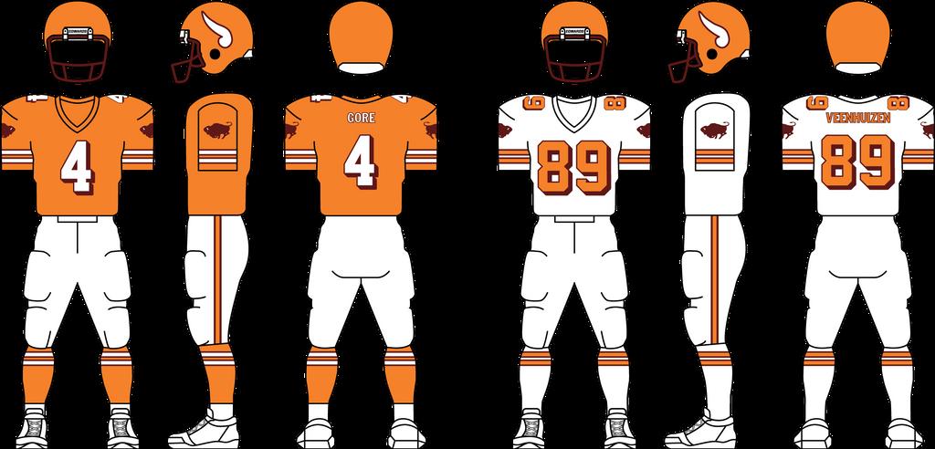 1978 Buffalo Stampeders Uniform