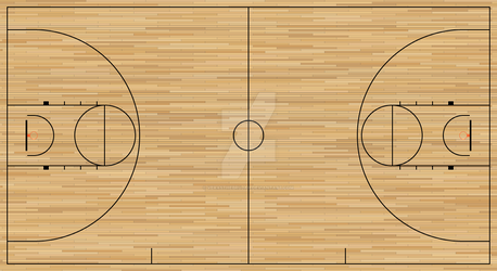 Basketball Court Template By Verasthebrujah On Deviantart