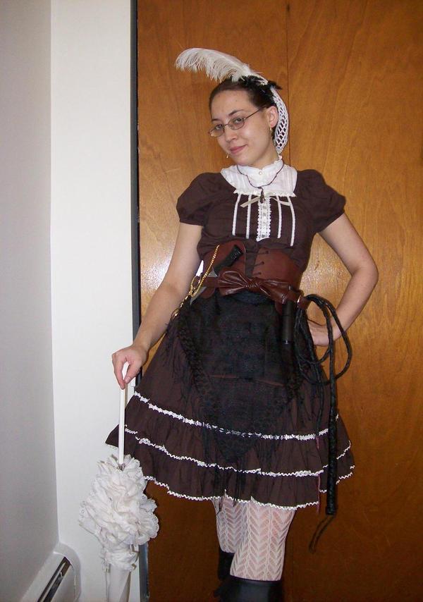Steampunk Lolita 1 by IdunnoWhoUpplR