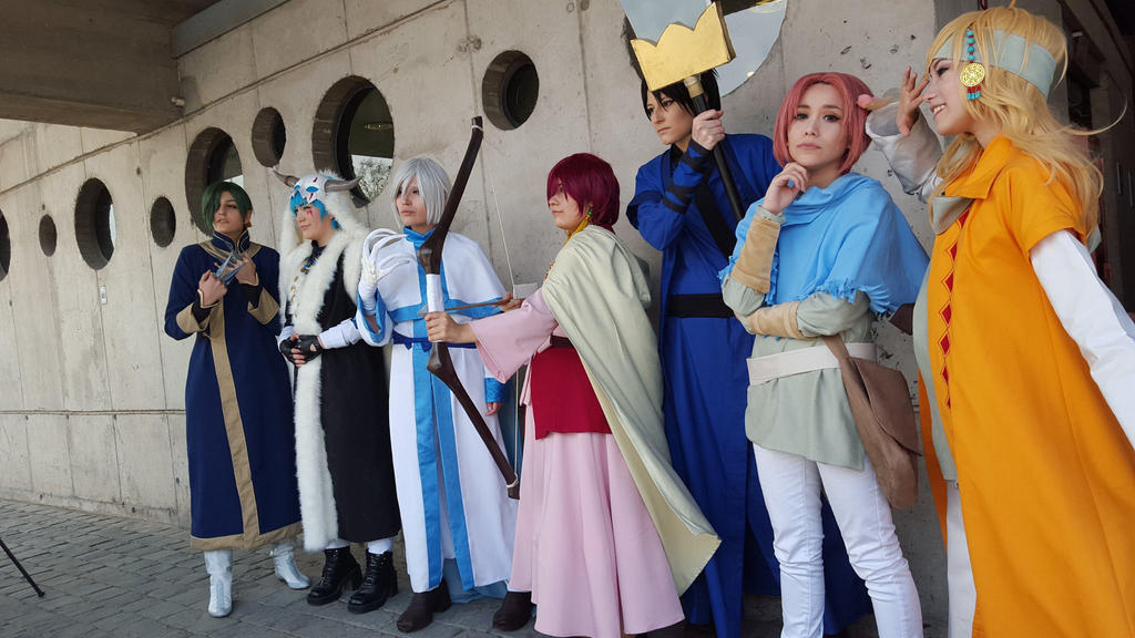 akatsuki no yona team by MarielBroflovski