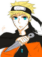 Naruto || Sketch by Skkiier