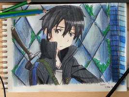 sword art online / Kirito by aBunny15