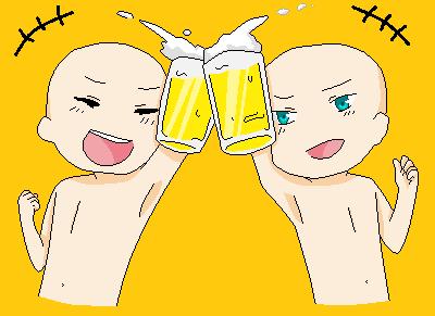 Cheers! base by cheshiresmilez