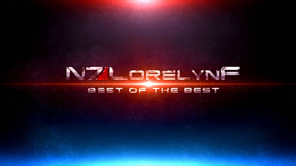 ME3 : Best of The Best Channel Art