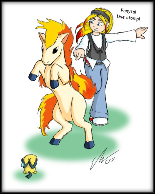 Pokemon Fanart: Use stomp by o0NeonCola0o